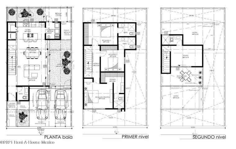 Casa Queretaro>El Marques>Zibata - Venta:3.450.000 Pesos - codigo: 22-963
