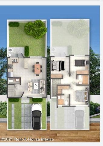 Casa Queretaro>El Marques>Zibata - Venta:1.710.000 Pesos - codigo: 22-965