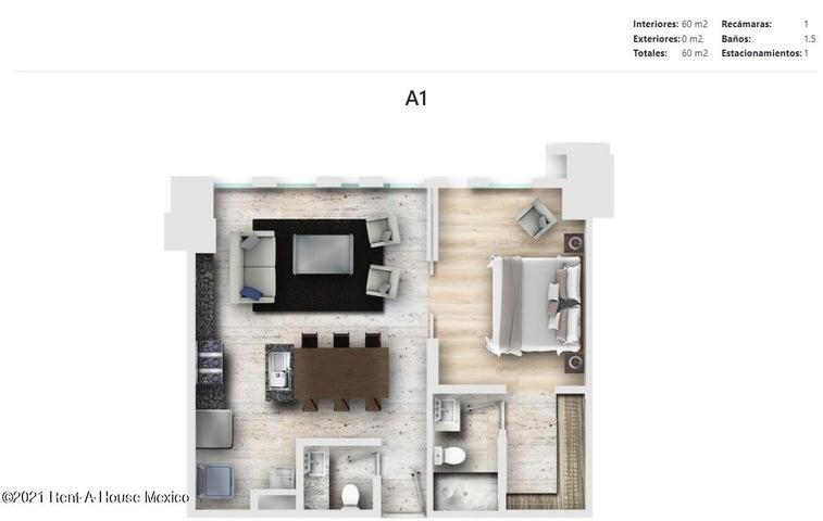 Departamento Distrito Federal>Alvaro Obregón>Los Alpes - Venta:4.246.413 Pesos - codigo: 22-547
