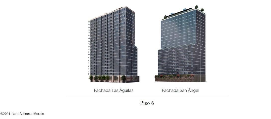Departamento Distrito Federal>Alvaro Obregón>Los Alpes - Venta:3.764.533 Pesos - codigo: 22-1024