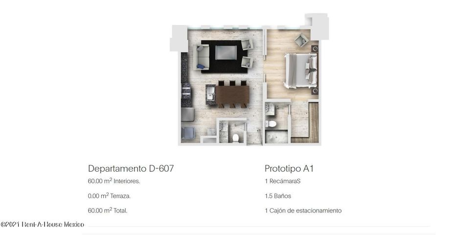 Departamento Distrito Federal>Alvaro Obregón>Los Alpes - Venta:6.058.743 Pesos - codigo: 22-1026