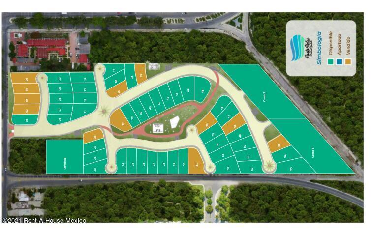 Terreno Yucatan>Progreso>Yucalpeten - Venta:1.011.520 Pesos - codigo: 22-1037