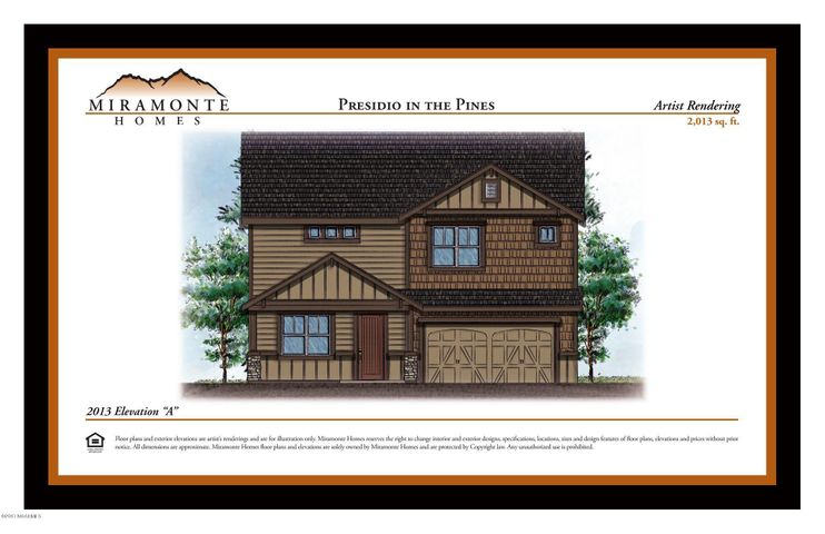 2013 Plan Elevation A, Base Price, Flagstaff, AZ 86001