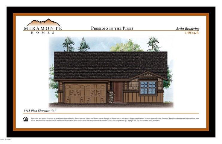 1455 Plan Elevation A, Base Price, Flagstaff, AZ 86001