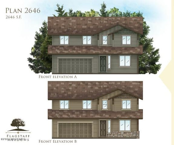 Plan 2646 Flagstaff Meadows, Bellemont, AZ 86015