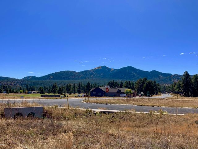 From lot looking toward Bill Williams Mountain