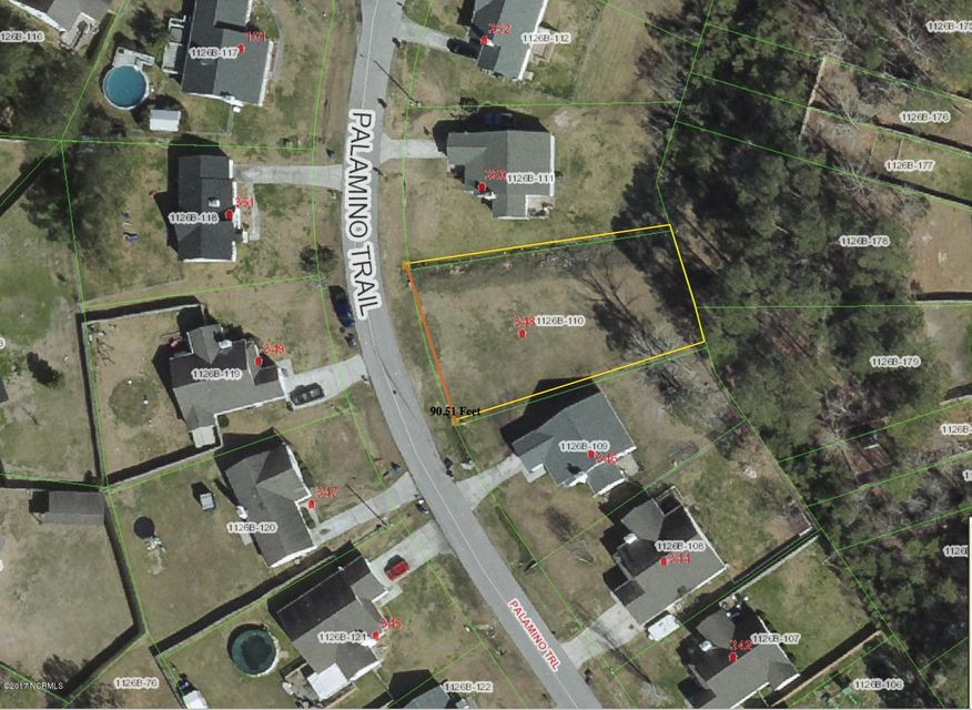 348 Palamino Trail, Jacksonville, NC, 28546 | MLS #100059308