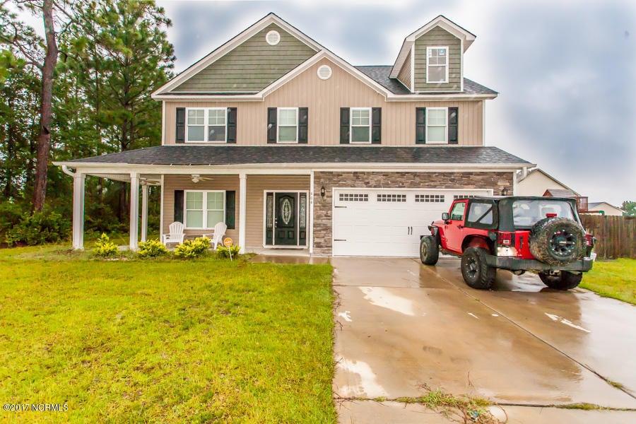 404 Kinroff Drive, Hubert, NC 28539