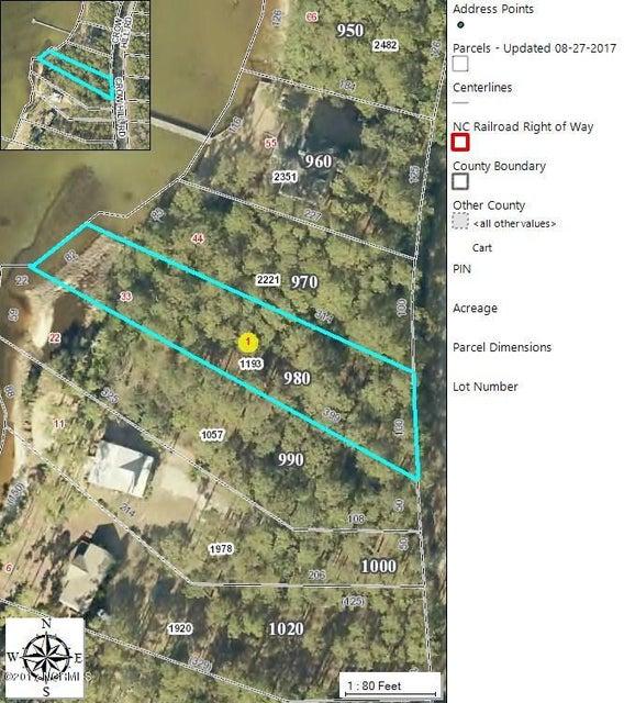 980 Crow Hill Road, Beaufort, NC, 28516 | MLS #100076435