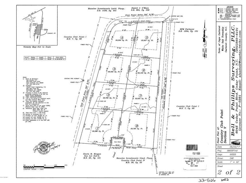 211 Club Point Drive, Cape Carteret, NC, 28584   MLS #100083714
