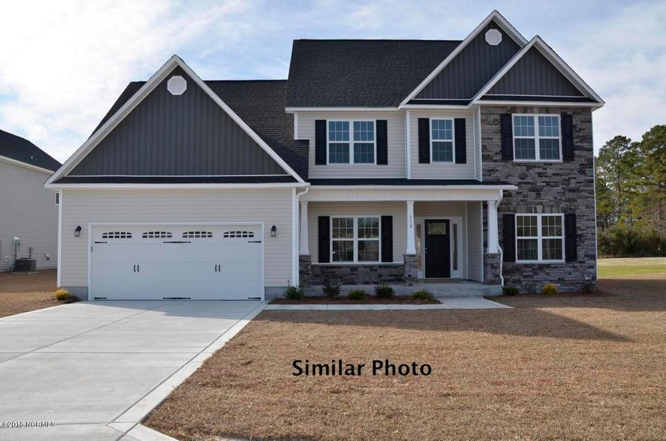Search new construction homes for sale in jacksonville nc for Cost of building a house in nc