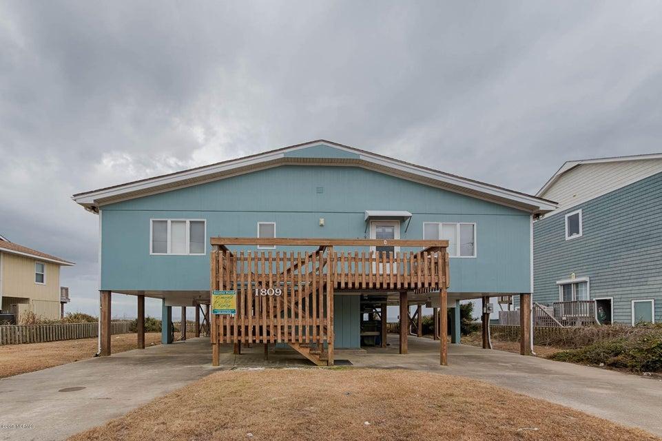 1809 Ocean Drive, Emerald Isle, NC, 28594   MLS #100088621