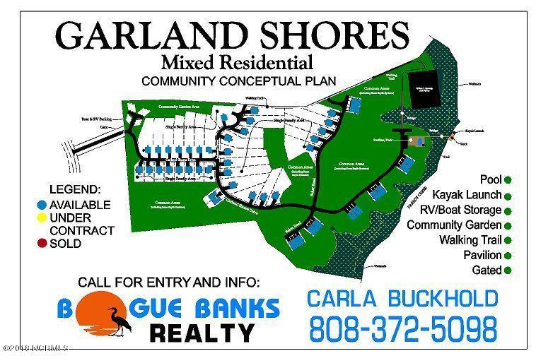 206 Garland Shores Drive, Hubert, NC, 28539   MLS #100110494