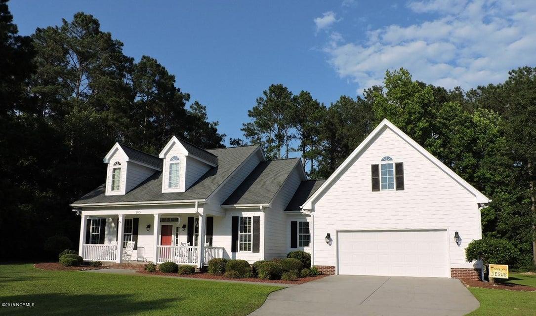 209 Silver Creek Landing Road, Swansboro, NC, 28584   MLS #100119820