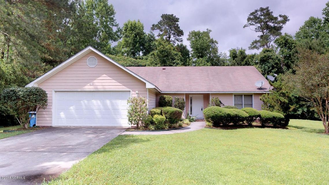 621 Clover Drive, Jacksonville, NC, 28546 | MLS #100101163