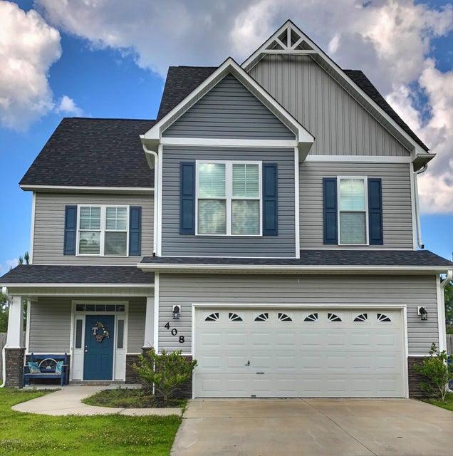 408 Savannah Drive, Jacksonville, NC, 28546 | MLS #100123275