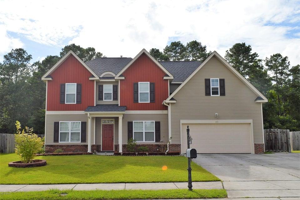 411 Savannah Drive, Jacksonville, NC, 28546 | MLS #100127756
