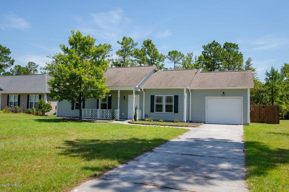 121 Boysenberry Fields Road, Jacksonville, NC, 28540   MLS #100129596