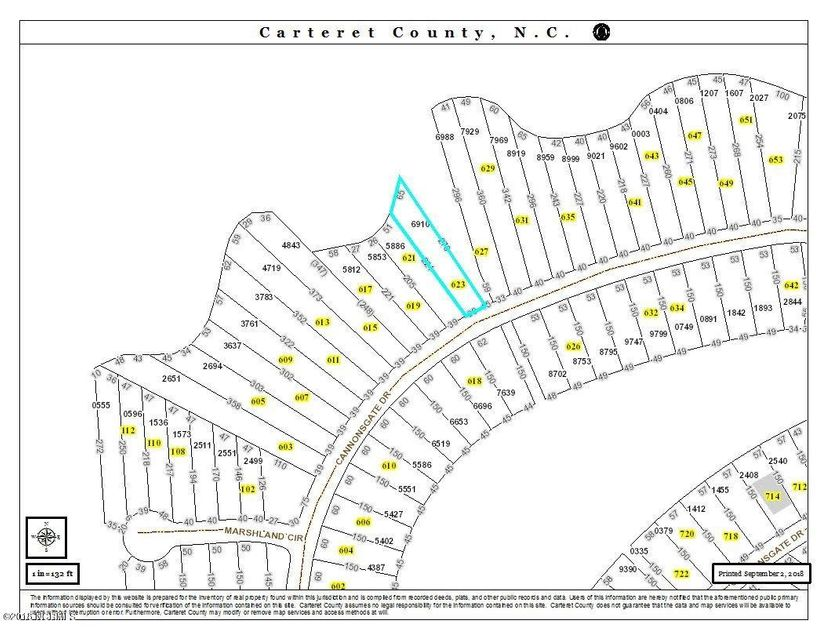 623 Cannonsgate Drive, Newport, NC, 28570 | MLS #100134016