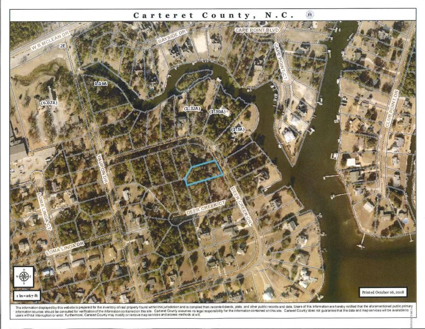 512 Deer Creek Drive, Cape Carteret, NC, 28584 | MLS #100138046