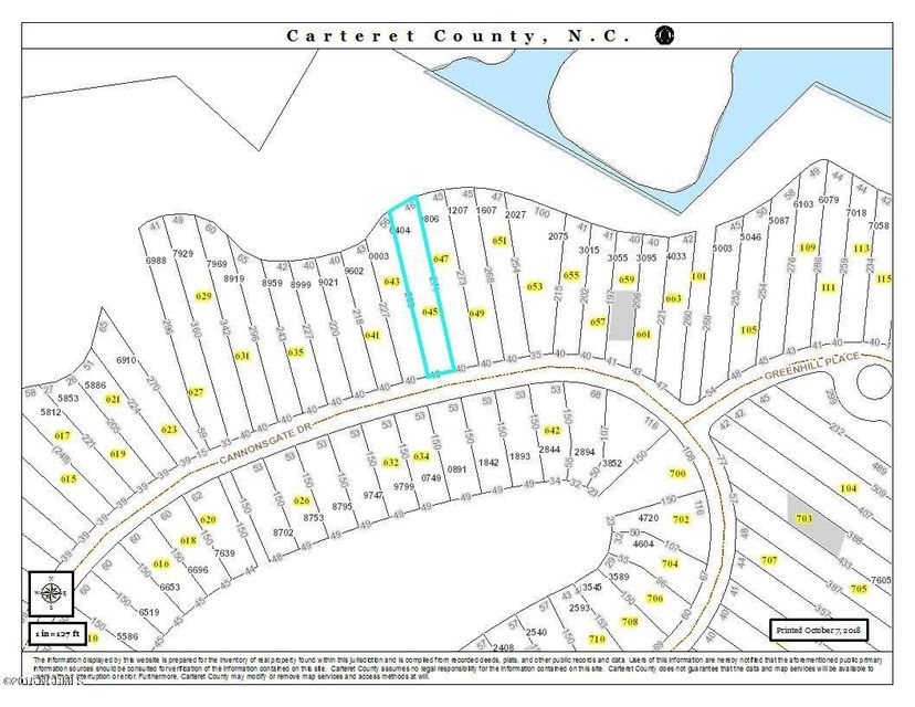 645 Cannonsgate Drive, Newport, NC, 28570 | MLS #100138091