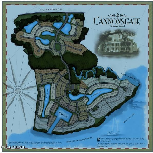 735 Cannonsgate Drive, Newport, NC, 28570 | MLS #100138856