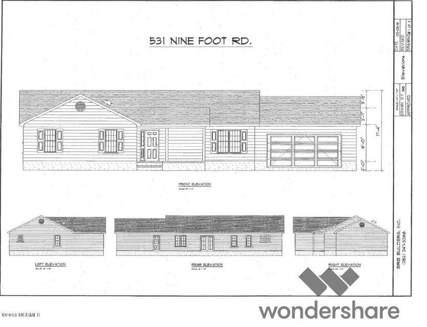 531 Nine Foot Road, Newport, NC, 28570   MLS #100139238
