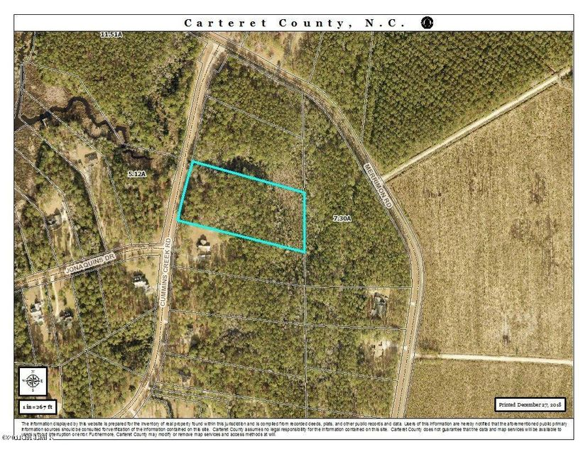 107 Cummins Creek Road, Beaufort, NC, 28516 | MLS #100144019