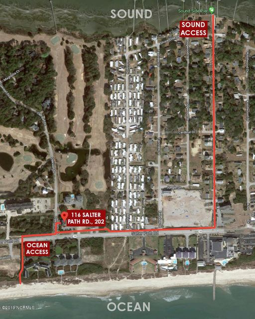 116 Salter Path Road #202, Pine Knoll Shores, NC, 28512 | MLS #100144875