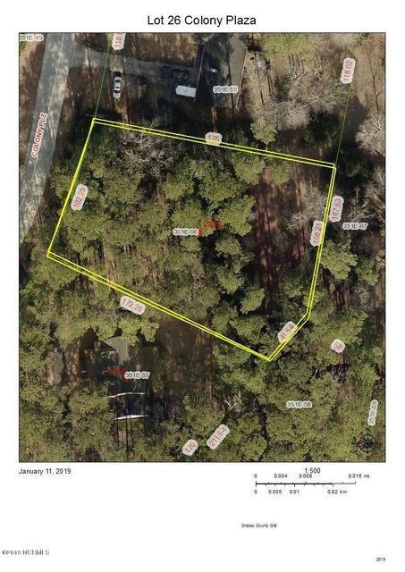 Lot 26 Colony Plaza, Jacksonville, NC, 28546 | MLS #100146057