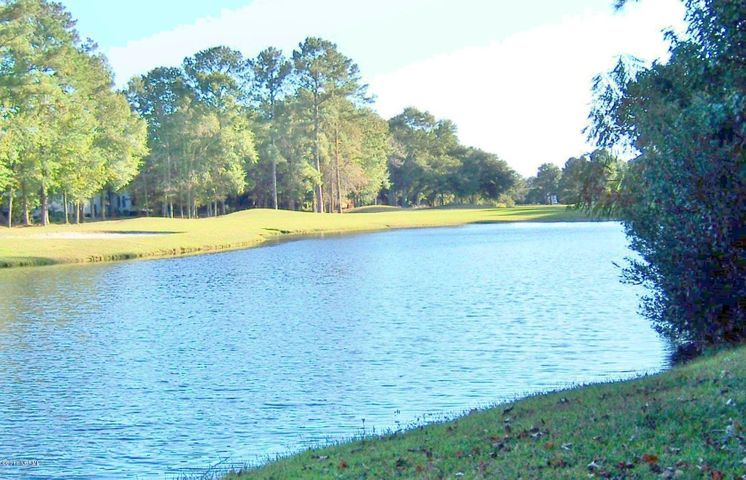 Golf Course View of Pond
