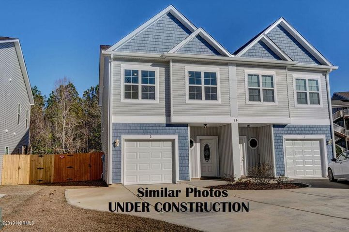SIMILAR CONSTRUCTION - Photos are of New Construction by the same builder less than a year ago on the same street.