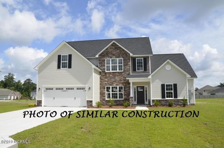 See rendering. Final build has side-entry RIGHT garage