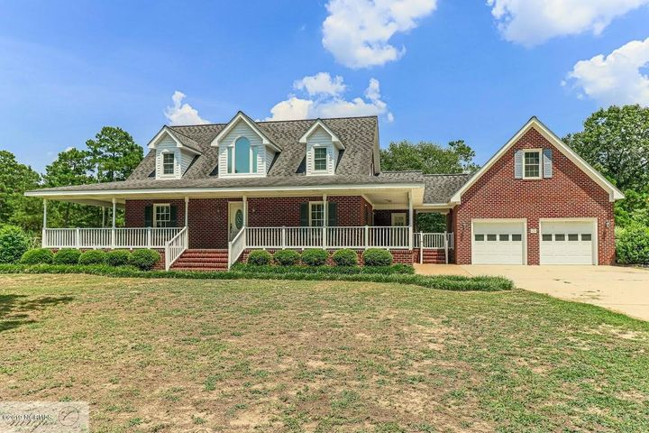 Situated on 1 acre lot