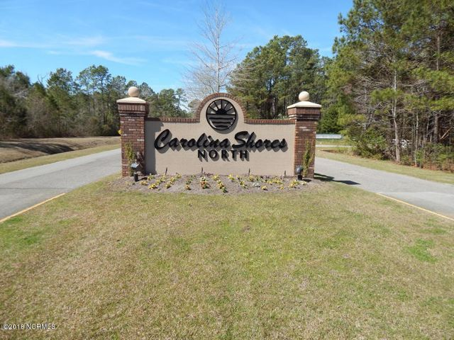 Lovely wooded lot in the Community of Carolina Shores North. Community has large lots for privacy, and outdoor community pool, tennis courts, and community center, Just a short drive to Myrtle Beach, fishing, shopping, entertainment, and our well known championship golf courses.