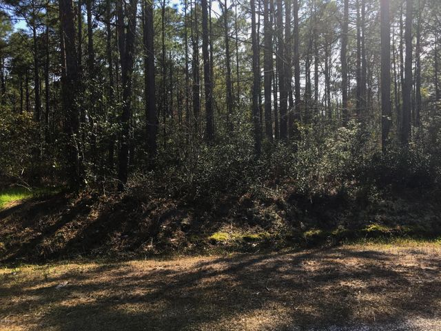 Lovely, Large, wooded building lot in Carolina Shores N. Water and Sewer available . Community has a Pool, Community Center, Tennis Courts. Close to Golf Courses, Shopping and Beaches.