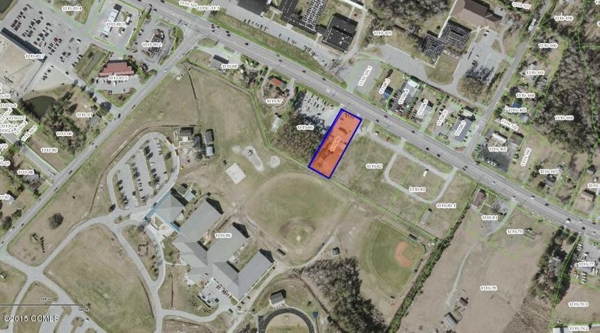 Approximately 3/4 of an acre lot with approximately 105 feet of Highway 24 frontage on the same side as Walmart and about 300 feet from entrance to Walmart
