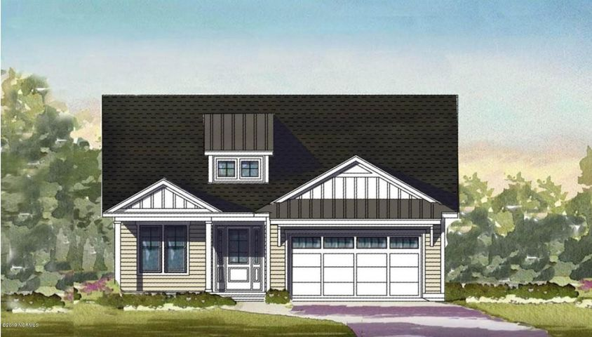 Greenbriar Rendering - The Villas at Echo Farms Townhome For Sale