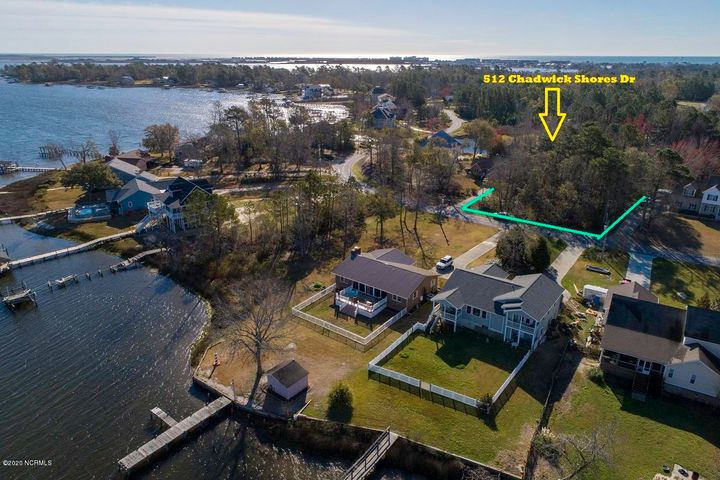 Great building lot in the popular Chadwick Shores Community with possible water views!!  come take a,look before it is gone!!