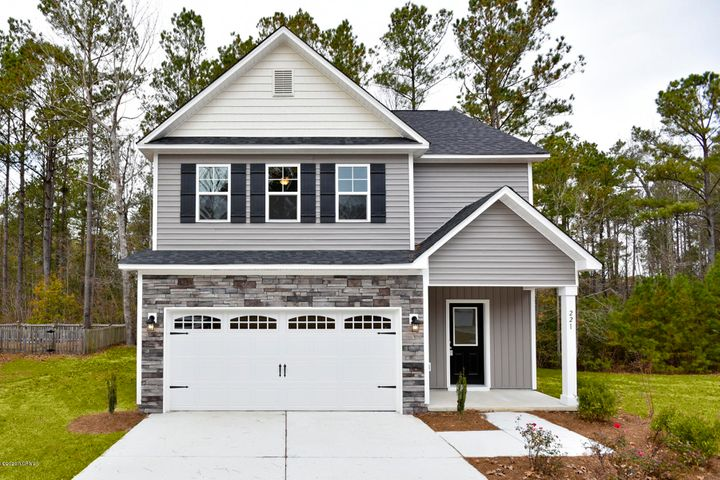 Introducing the ''Lenox'' floor plan at Beech Crest! This new home offers 3 bedrooms, 2.5 bathrooms, and a 2-car garage; at approximately 1,807 heated square feet! Located in a quiet country setting yet only minutes to local bases, schools and shopping! Featuring architectural shingles, low maintenance vinyl siding, energy efficient heat pump, a sodded front yard, and professional landscaping. Interior features include designer inspired paint, flooring, lighting, cabinets and countertops. In addition, you will enjoy smooth ceilings, ceiling fans in the living room and master bedroom, plus stainless-steel appliances! Contact me today for more information.