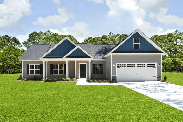 Introducing the ''Magnolia Ridge'' floor plan at Beech Crest! This new home offers 3 bedrooms plus a bonus room, 2 bathrooms, and a 2-car garage; at approximately 1,990 heated square feet! Located in a quiet country setting yet only minutes to local bases, schools and shopping! Featuring architectural shingles, low maintenance vinyl siding, energy efficient heat pump, a sodded front yard, and professional landscaping. Interior features include designer inspired paint, flooring, lighting, cabinets and countertops. In addition, you will enjoy 9' smooth ceilings, ceiling fans in the living room and master bedroom, plus stainless-steel appliances! Contact me today for more information.