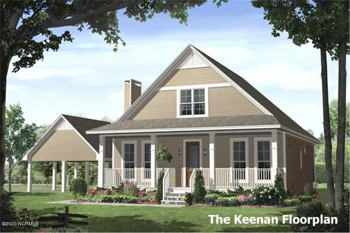 The Keenan Floorplan by Blu Enterprise! This brand new construction house with 3 bedrooms, 2 baths and approx 1850 square feet will be loaded with all the features that you are looking for in a new home!