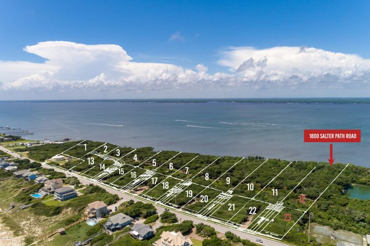 New subdivision accepting reservations! Roosevelt Cove consists of 1 to 3 acre ''estate properties'' that each include two buildable lots: one sound front and one 2nd row. 2 for the price of 1! In this case, Lot 12 is soundfront & combined with Lot 23 (second row) for one list price. This unique combination allows for several options: build your coastal home on the soundfront lot and a carriage or guest home on the second row lot; build on one lot and sell the other lot as its own entity; or build on one lot now and use the other lot at a later date. Both lots will have a septic permit for a 4 bedroom home (in process). A great opportunity from every angle!