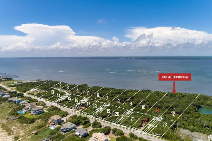 New subdivision accepting reservations! Roosevelt Cove consists of 1 to 3 acre ''estate properties'' that each include two buildable lots: one sound front and one 2nd row. 2 for the price of 1! In this case, Lot 11 is soundfront & combined with Lot 22 (second row) for one list price. This unique combination allows for several options: build your coastal home on the soundfront lot and a carriage or guest home on the second row lot; build on one lot and sell the other lot as its own entity; or build on one lot now and use the other lot at a later date. Both lots will have a septic permit for a 4 bedroom home (in process). A great opportunity from every angle!