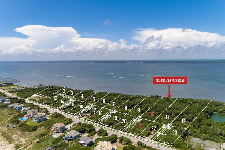 New subdivision accepting reservations! Roosevelt Cove consists of 1 to 3 acre ''estate properties'' that each include two buildable lots: one sound front and one 2nd row. 2 for the price of 1! In this case, Lot 10 is soundfront & combined with Lot 21 (second row) for one list price. This unique combination allows for several options: build your coastal home on the soundfront lot and a carriage or guest home on the second row lot; build on one lot and sell the other lot as its own entity; or build on one lot now and use the other lot at a later date. Both lots will have a septic permit for a 4 bedroom home (in process). A great opportunity from every angle!