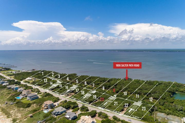 New subdivision accepting reservations! Roosevelt Cove consists of 1 to 3 acre ''estate properties'' that each include two buildable lots: one sound front and one 2nd row. 2 for the price of 1! In this case, Lot 9 is soundfront & combined with Lot 20 (second row) for one list price. This unique combination allows for several options: build your coastal home on the soundfront lot and a carriage or guest home on the second row lot; build on one lot and sell the other lot as its own entity; or build on one lot now and use the other lot at a later date. Both lots will have a septic permit for a 4 bedroom home (in process). A great opportunity from every angle!