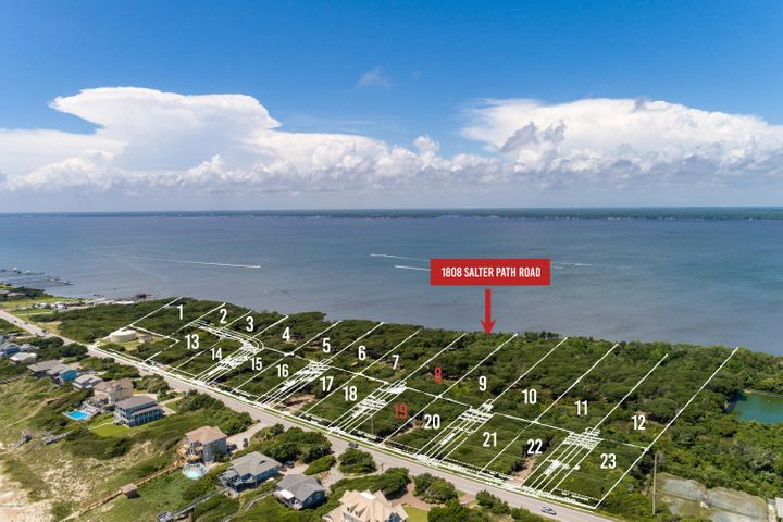 New subdivision accepting reservations! Roosevelt Cove consists of 1 to 3 acre ''estate properties'' that each include two buildable lots: one sound front and one 2nd row. 2 for the price of 1! In this case, Lot 8 is soundfront & combined with Lot 19 (second row) for one list price. This unique combination allows for several options: build your coastal home on the soundfront lot and a carriage or guest home on the second row lot; build on one lot and sell the other lot as its own entity; or build on one lot now and use the other lot at a later date. Both lots will have a septic permit for a 4 bedroom home (in process). A great opportunity from every angle!