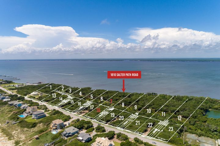 New subdivision accepting reservations! Roosevelt Cove consists of 1 to 3 acre ''estate properties'' that each include two buildable lots: one sound front and one 2nd row. 2 for the price of 1! In this case, Lot 7 is soundfront & combined with Lot 18 (second row) for one list price. This unique combination allows for several options: build your coastal home on the soundfront lot and a carriage or guest home on the second row lot; build on one lot and sell the other lot as its own entity; or build on one lot now and use the other lot at a later date. Both lots will have a septic permit for a 4 bedroom home (in process). A great opportunity from every angle!