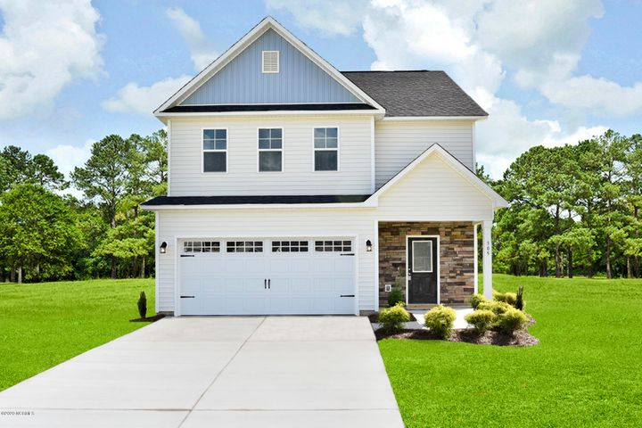 Introducing the ''Lenox'' floor plan at Camden Woods! This new home offers 3 bedrooms, 2.5 bathrooms, and a 2-car garage; at approximately 1,807 heated square feet! Located in a quiet country setting yet only minutes to local bases, schools and shopping! Featuring architectural shingles, low maintenance vinyl siding, energy efficient heat pump, a sodded front yard, and professional landscaping. Interior features include designer inspired paint, flooring, lighting, cabinets and countertops. In addition, you will enjoy smooth ceilings, ceiling fans in the living room and master bedroom, plus stainless-steel appliances! Contact me today for more information.