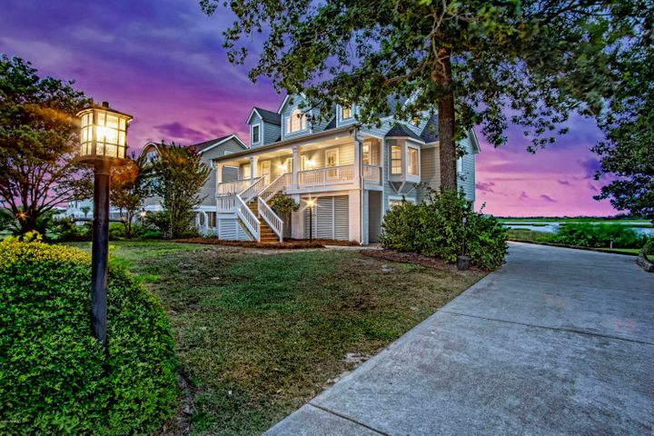 Enjoy an unobstructed view from the back porch of this newly renovated home.  Large deck and screen porch span the length of the house.  Kitchen has been completely remodeled with new cabinets and stainless appliances.  All new master bath with huge walk-in shower.  Owner now  has a CAMA permit which allows a buyer to construct a pier all the way to the Intracoastal Waterway!Priced to sell!
